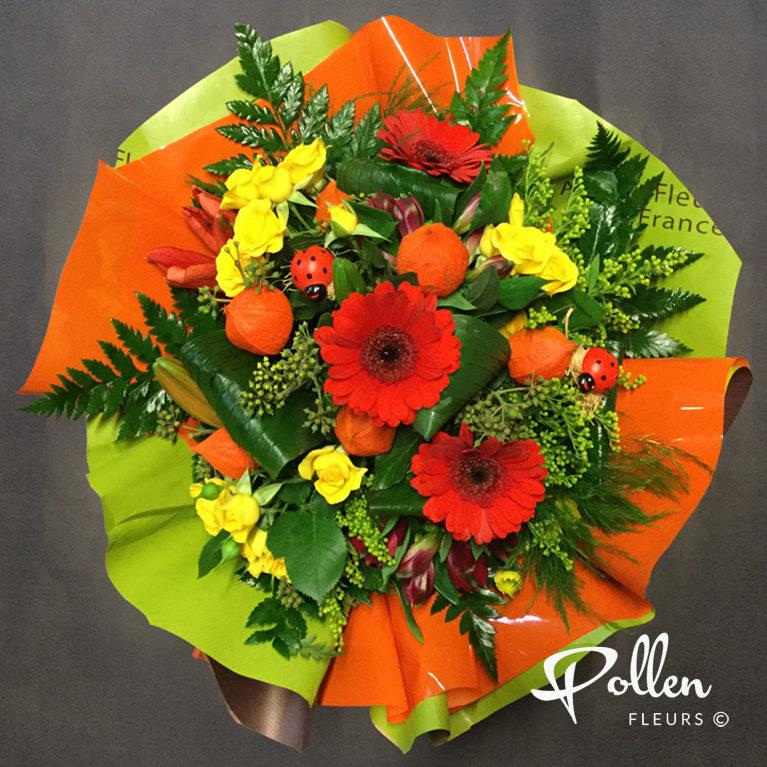 bouquets colorés et élégants livraison dans toute la Sarthe