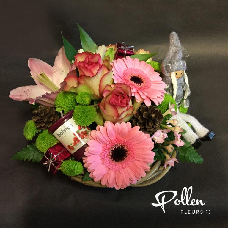 Décorer sa maison pour noel avec des fleurs