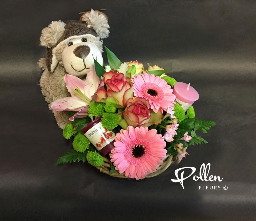 Envoyer des fleurs pour un anniversaire for Bouquet de fleurs pour une naissance